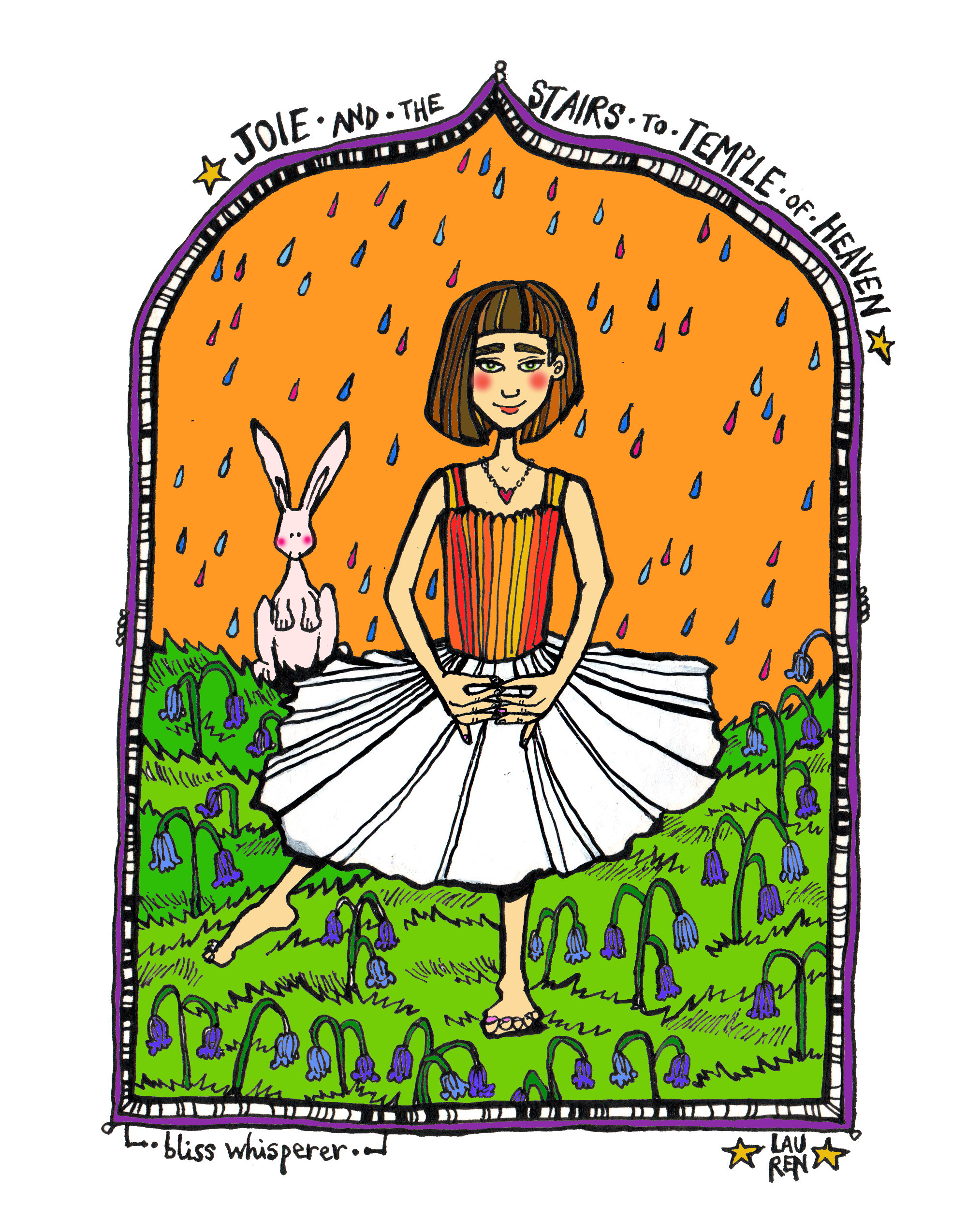 Joie the Bliss Whisperer (colourway)