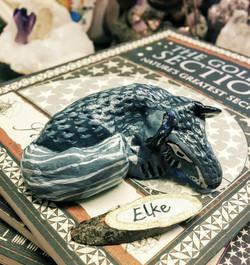 SOLD ~ Elke the Grey Wolfy