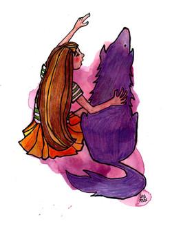 Seeing Beyond Illusion, Wolfy & Iris