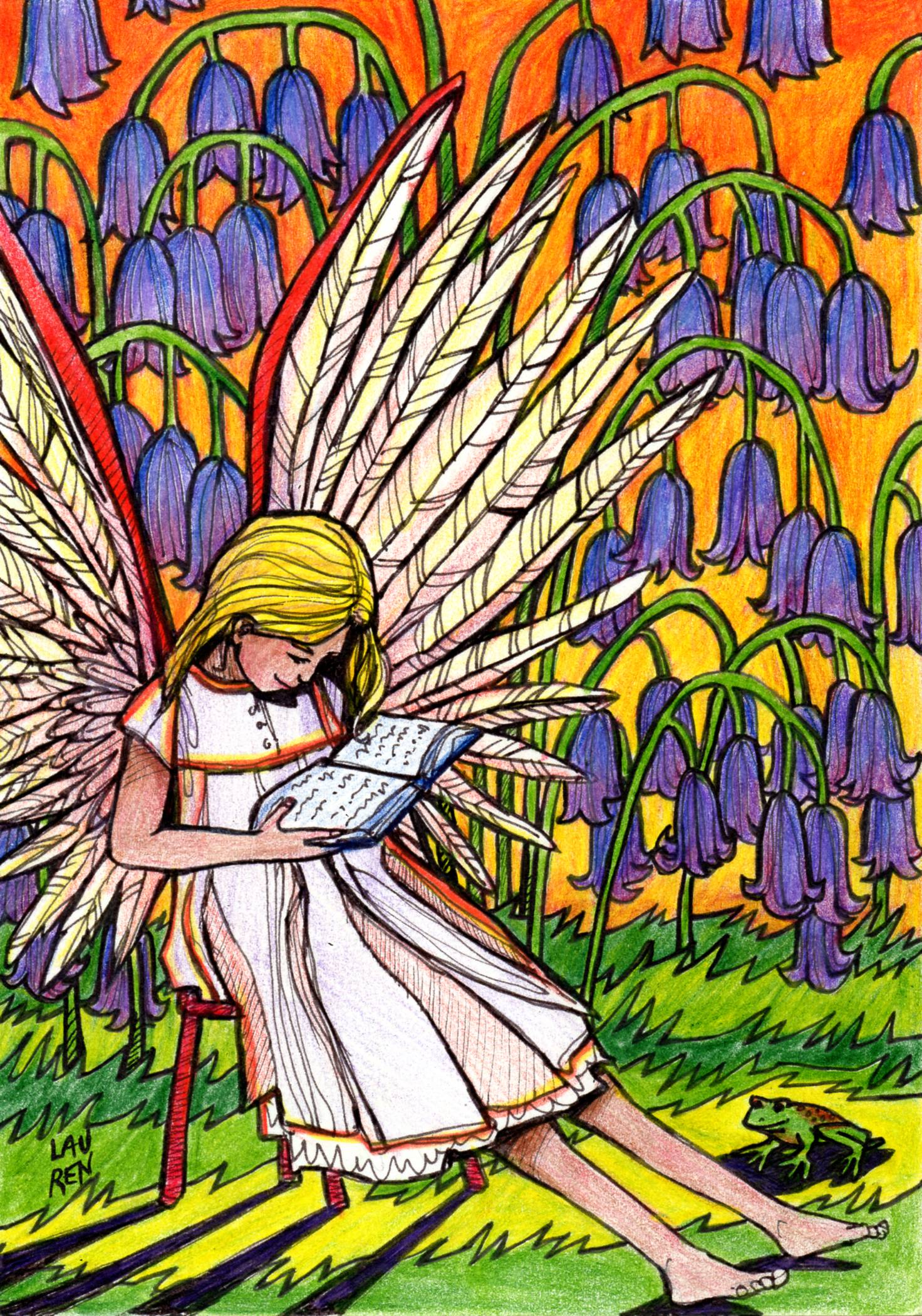 Angel - Light Card