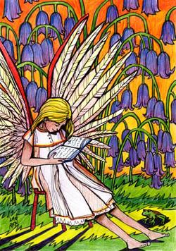 Angel - Light Card