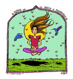 Sophia the Wisdom Keeper (colourway)