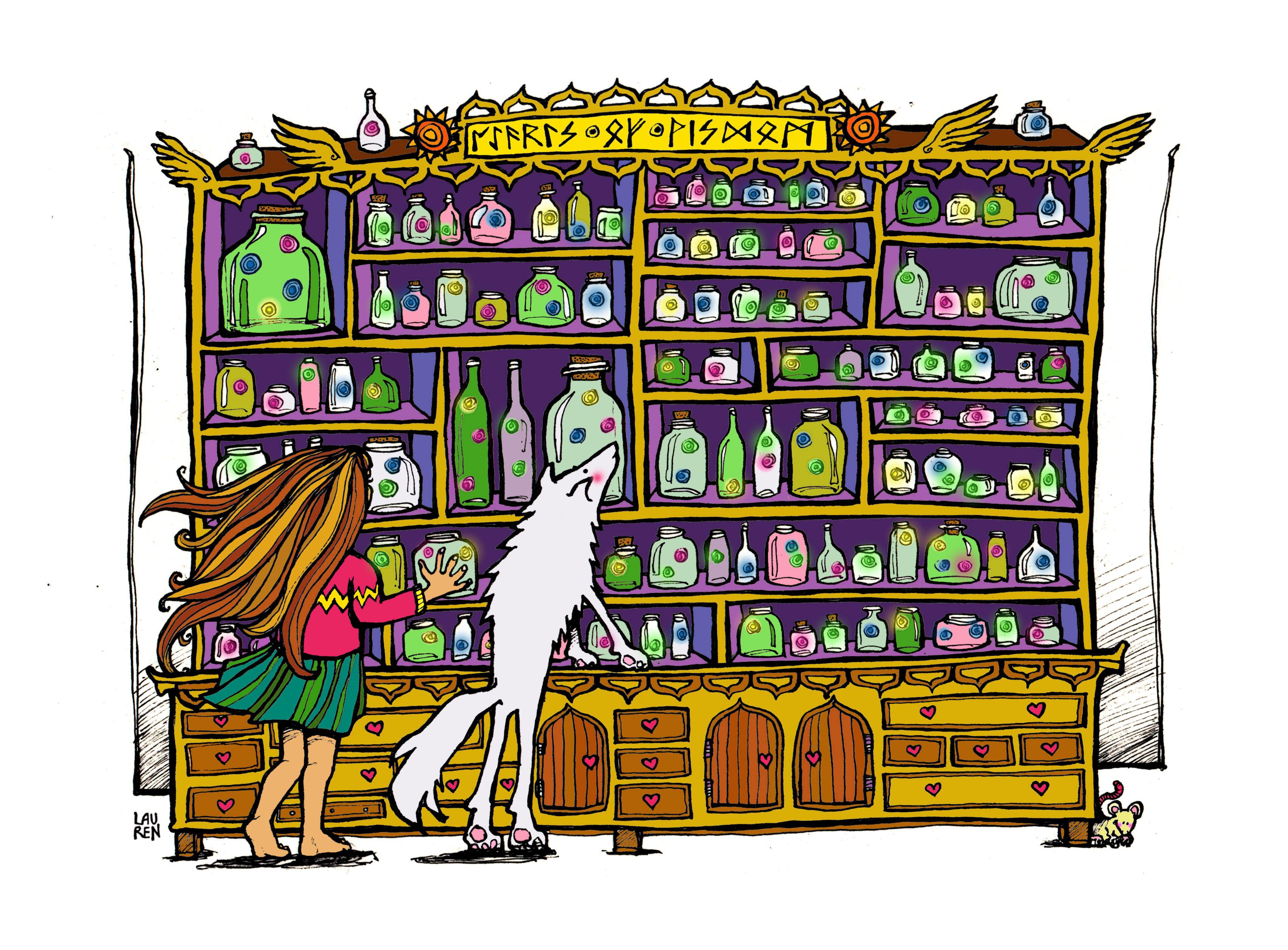 The Wisdom Repository (colourway)