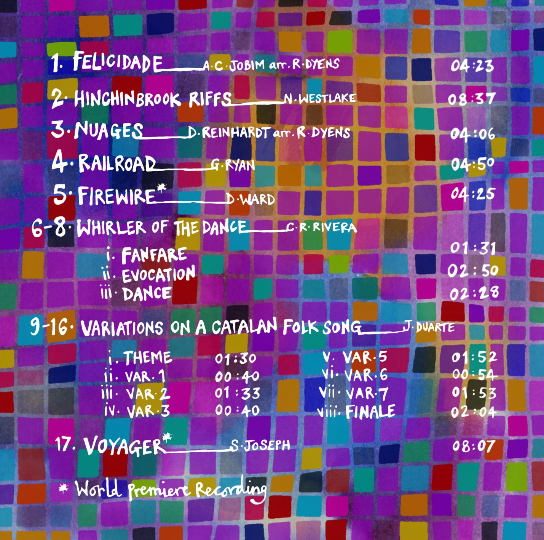 Album Artwork (back page)