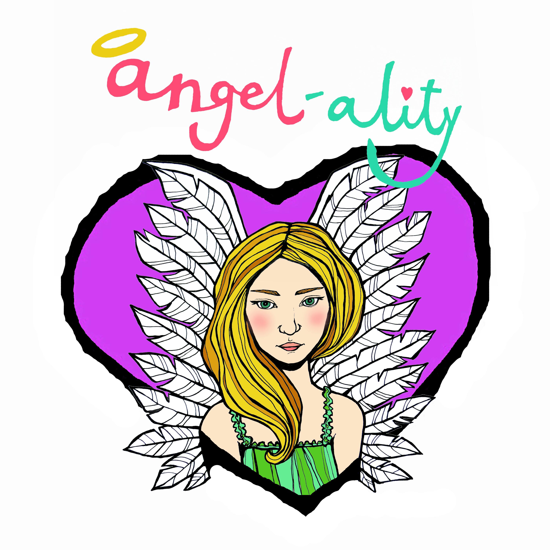 Violet Heart Angel