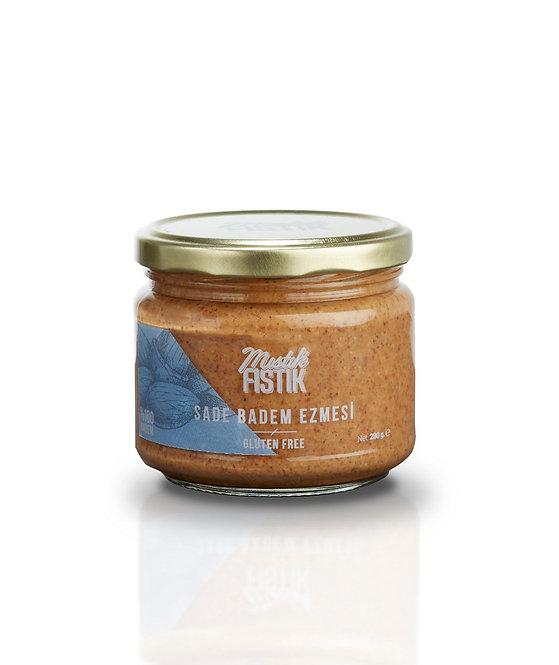 Mıstık Fıstık Vegan Sade Badem Ezmesi 280 gr