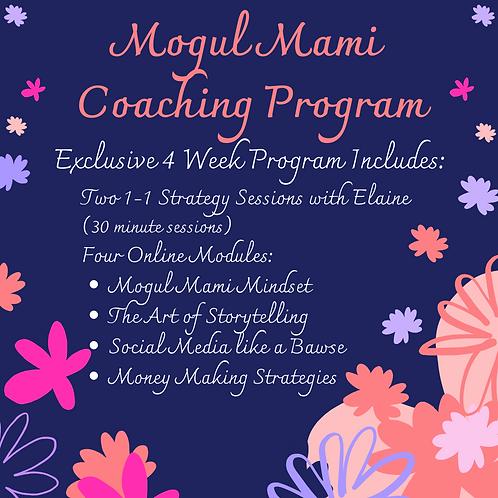 Mogul Mami Coaching Program