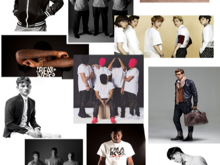 Modelling 101: How Important are Mood Boards for a Model?  (Tailored Corp & TrendyRail Photo shoot)