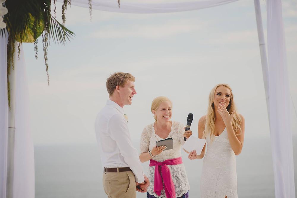 Bali Wedding Ceremony Vow with My Bali Celebrant