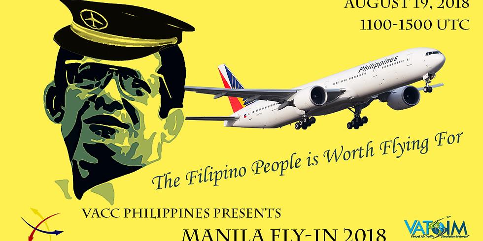 MANILA FLY-IN 2018 - NINOY AQUINO DAY