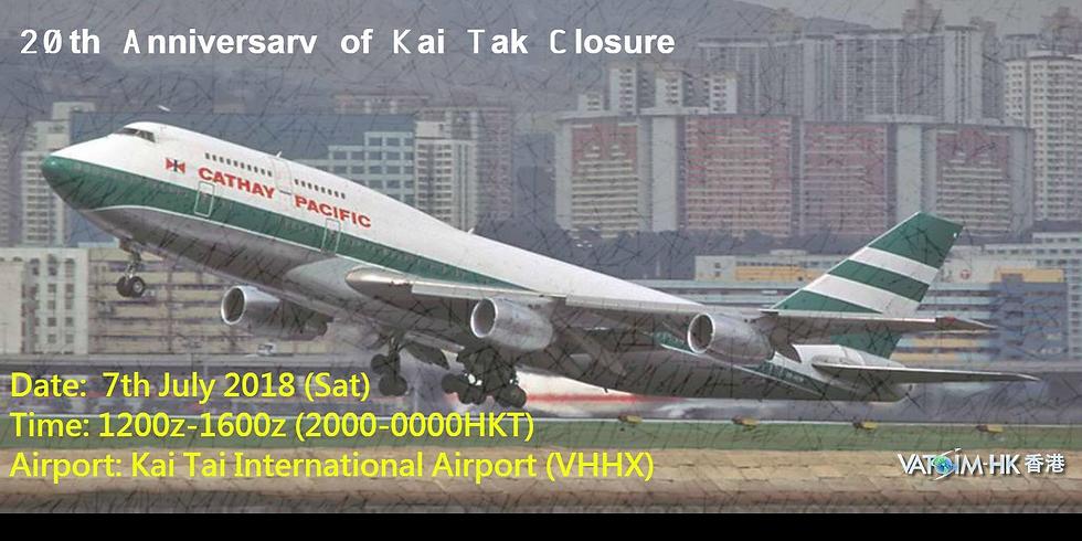 20TH ANNIVERSARY OF KAI TAK CLOSURE