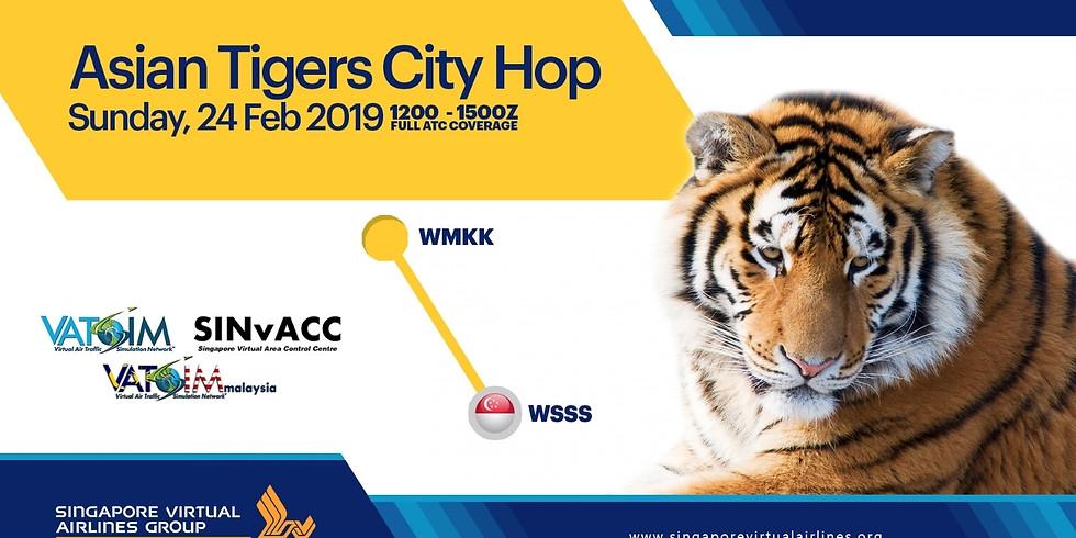Asian Tigers City Hop