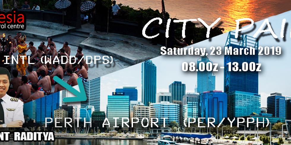 CITY PAIR: DENPASAR -> PERTH