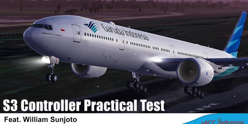 S3 Controller Practical Test - William Sunjoto