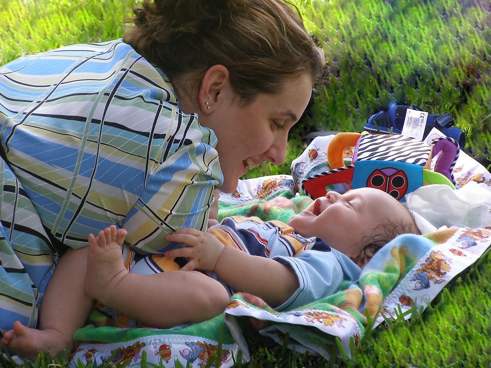 Összhang mama és baba között
