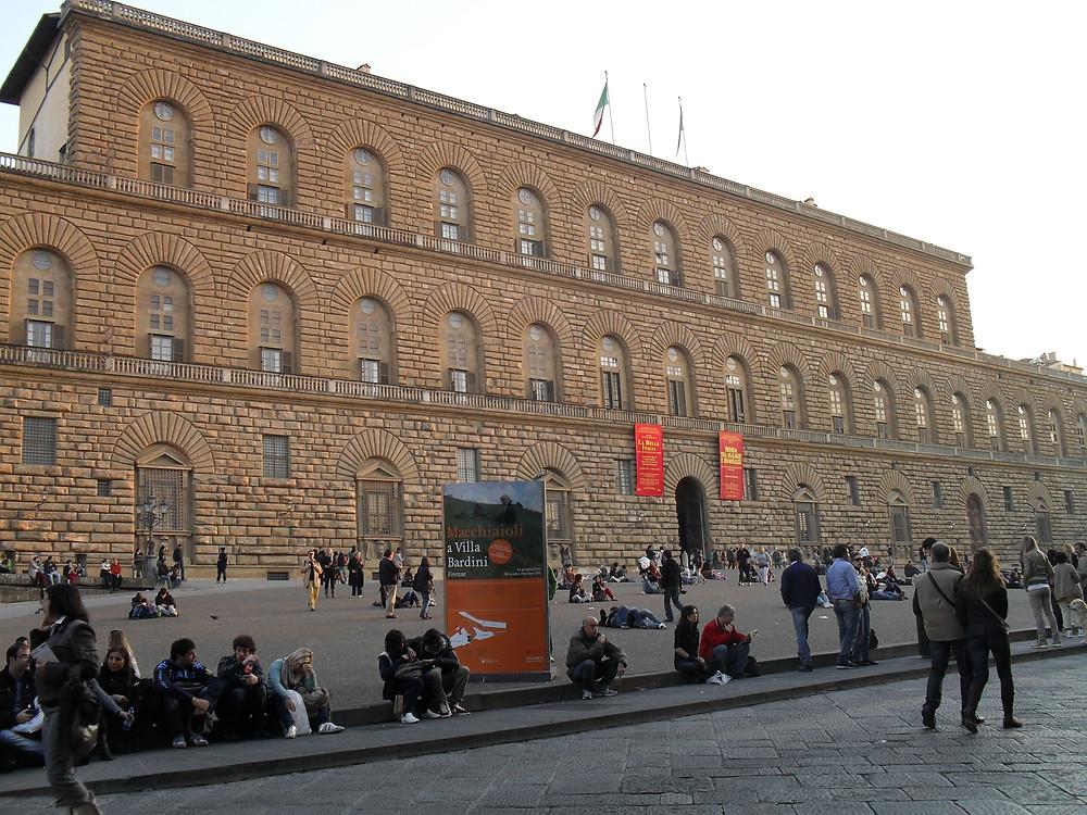 Firenze, Pitti-palota