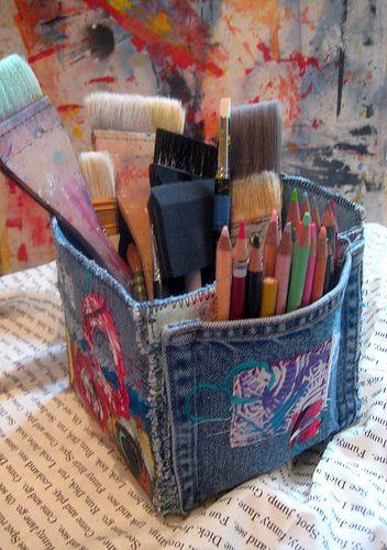 Kreatív ceruzatartó