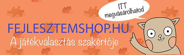 A Fejlesztemagyerekem.hu webáruháza