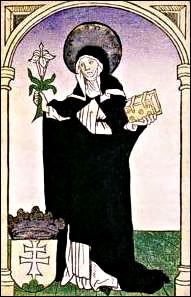 Árpádházi szent Margit Forrás: Wikipeda