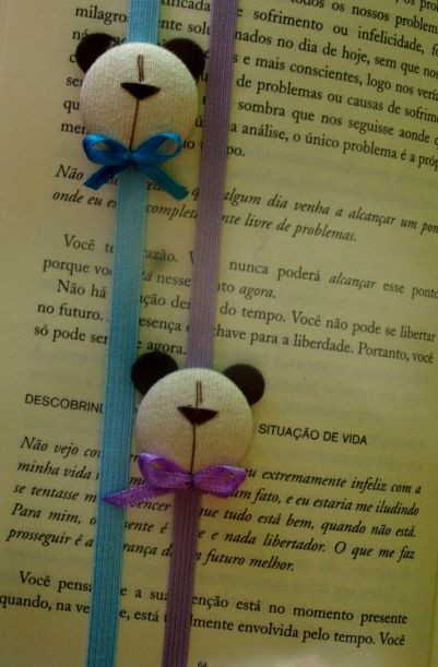 Könyvjelző - macis