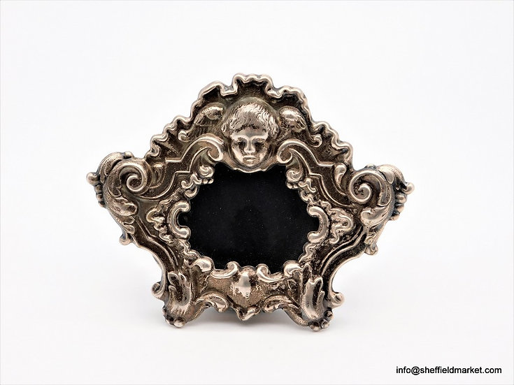 Portafoto argento italiano