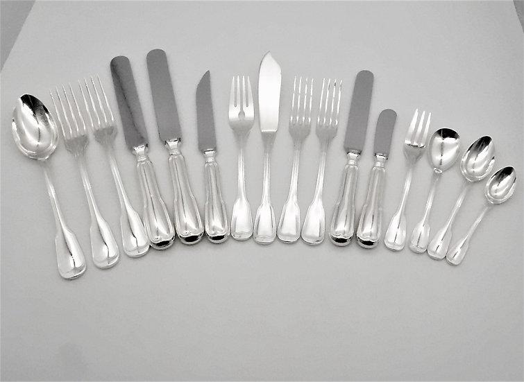Broggi Milano - Broggi Milano - Servizio da tavola per 12 persone (201  posate )