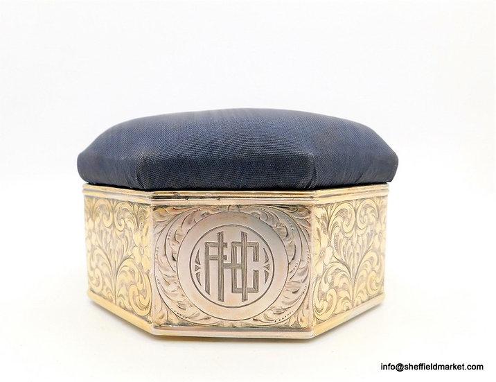 Portagioie  - TIFFANY -  925 argento - USA - Inizio XX secolo