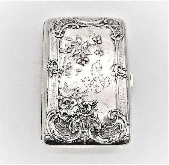 Porta tabacco argento - primi '900