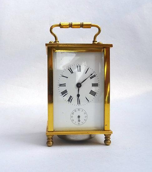 Raro orologio da viaggio con suoneria - Francia fine '800 primi '900