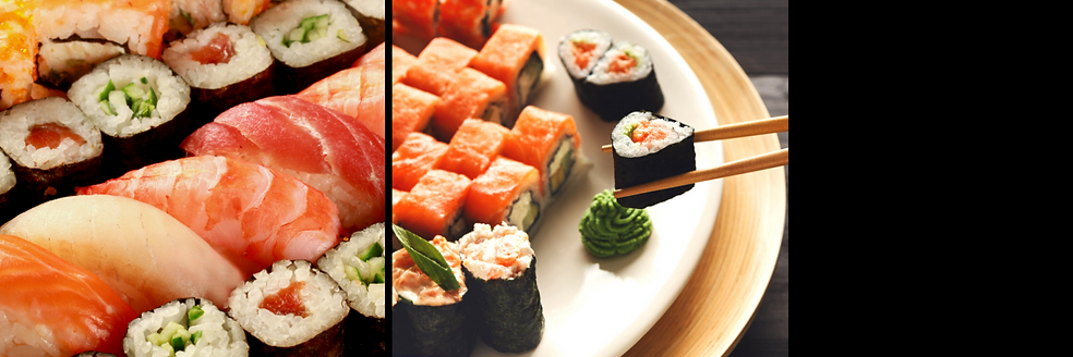 Japanese Food Sushi Bar Twitter Header.p