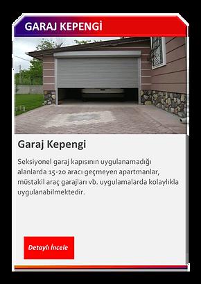 GARAJ KEPENGİ