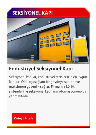 SEKSİYONEL KAPI