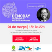 Icone do Demoday, mostrando a data 04 de Março
