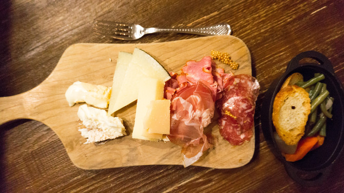 Perfect Charcuterie Board at the Hotel Teatro