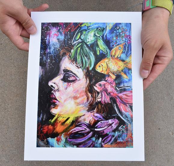 Fearless Depth - Paper Prints
