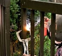 electric gate welding service surrey/hampshire/berkshire/london