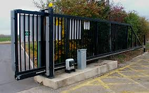 commercial electric gates surrey