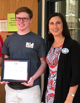 St. Louis Scholarship winner