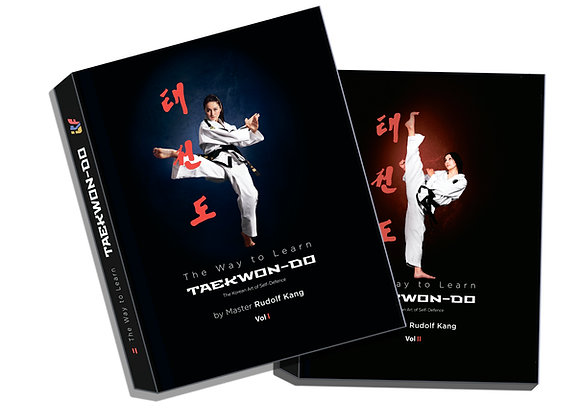 "Set of 2 Volumes (English Version) ""The Way To Learn Taekwon-Do"""