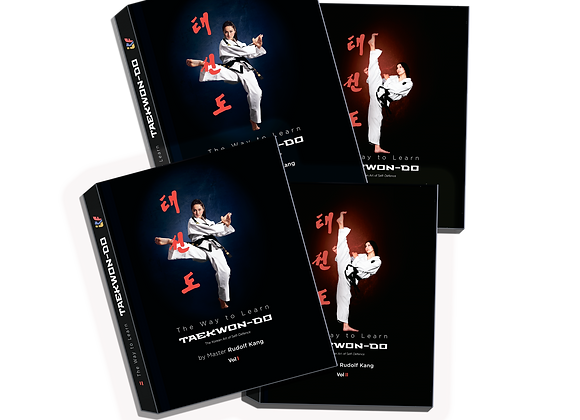 "2 Sets of The Books ""The Way to Learn Taekwon-Do-"""