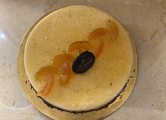 vaniglia, biscotto e albicocche