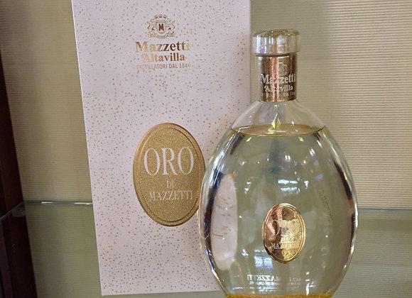 Oro di Mazzetti - Liquore a base di grappa
