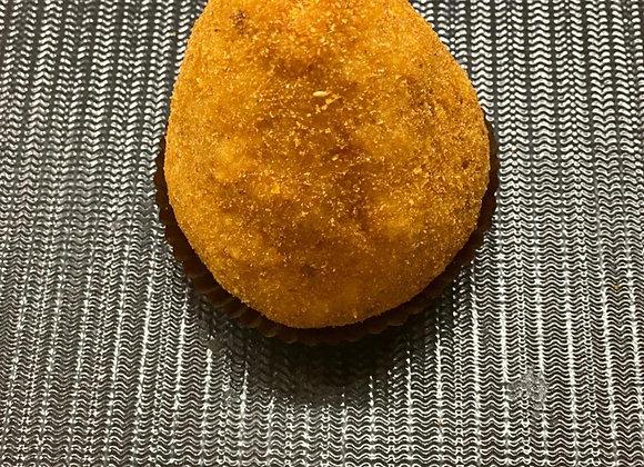 arancina prosciutto e mozzarella