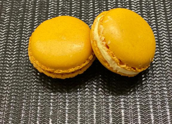 macaron alla vaniglia