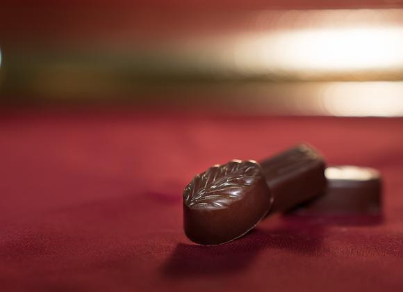 Praline di cioccolato fondente