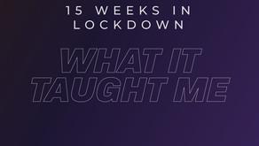 15 Weeks in Lockdown, What it Taught me
