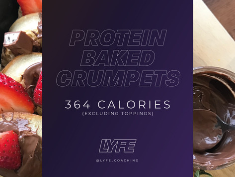 Protein Baked Crumpets