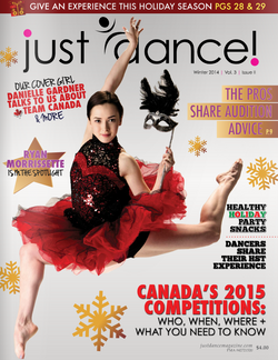 Just Dance Magazine Cover