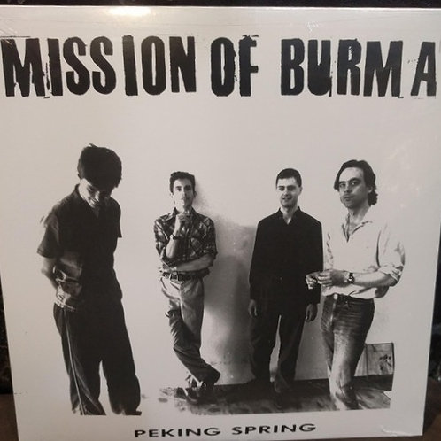 MISSION OF BURMA - PEKING SPRING RED VINYL