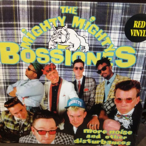 MIGHTY MIGHTY BOSSTONES - MORE NOISE AND OTHER DISTRUBANCES - RED VINYL LP